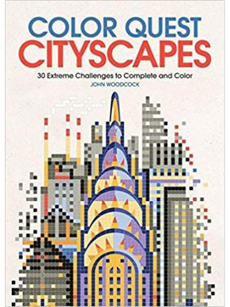 COLOR QUEST: CITYSCAPES: 30 EXTREME CHALLENGES TO C