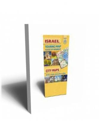 ISRAEL TOURING MAP
