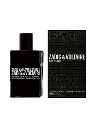 ZADIG & VOLTAIRE THIS IS HIM EDT  בושם לגבר 100 מ ל